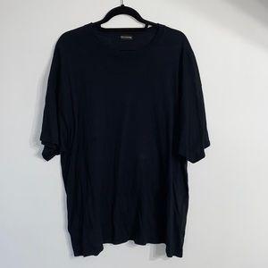 Pretty Little Thing Oversized Black T Shirt